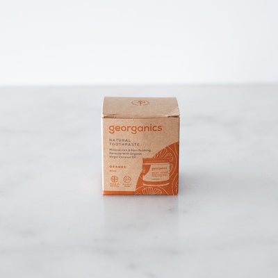 Georganics Toothpaste - Orange