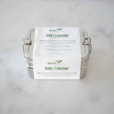 Green Essentials Tuck-a-Stacker Trio Lunchbox