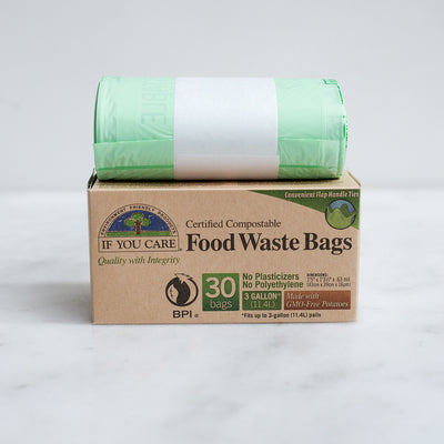 If You Care Compostable Food Waste Bin Bags - 11.4L