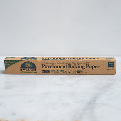 If You Care Unbleached Chlorine Free Parchment Baking Paper Roll