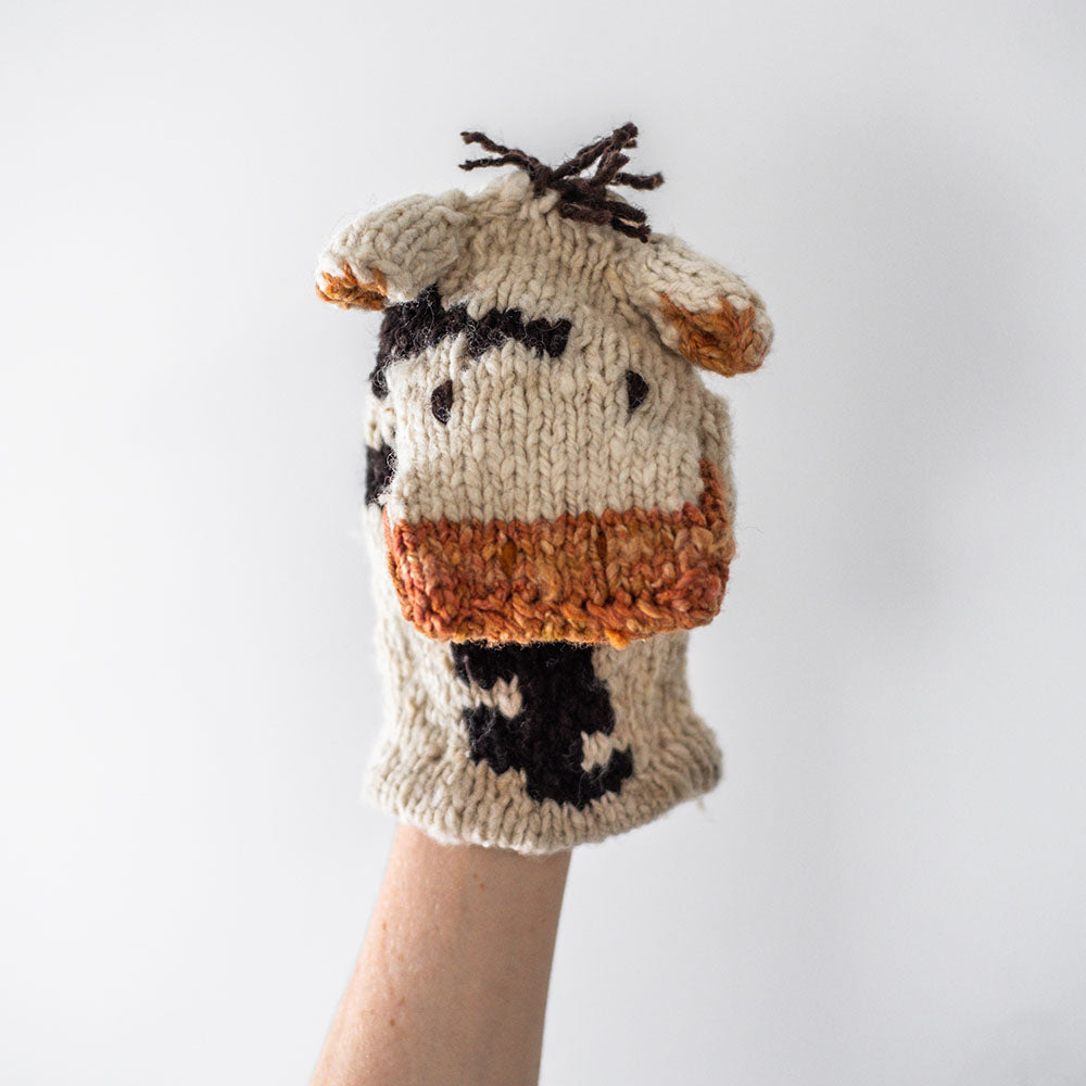 Kenana Hand Puppet Cow