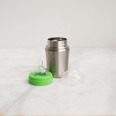 Klean Kanteen Stainless Steel Baby Bottle - Medium Flow - 266ml