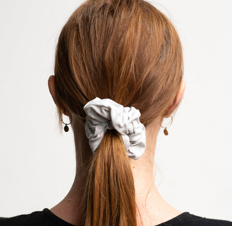 Kooshoo Certified Organic Scrunchies - Moon Shadow