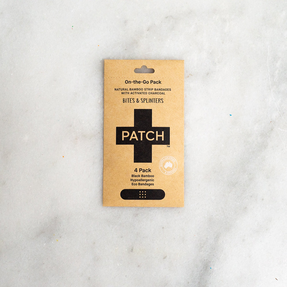 Patch On-The-Go 4 Pack - Activated Charcoal