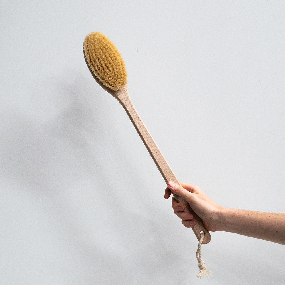 Redecker Beechwood Bath Brush - 50cm