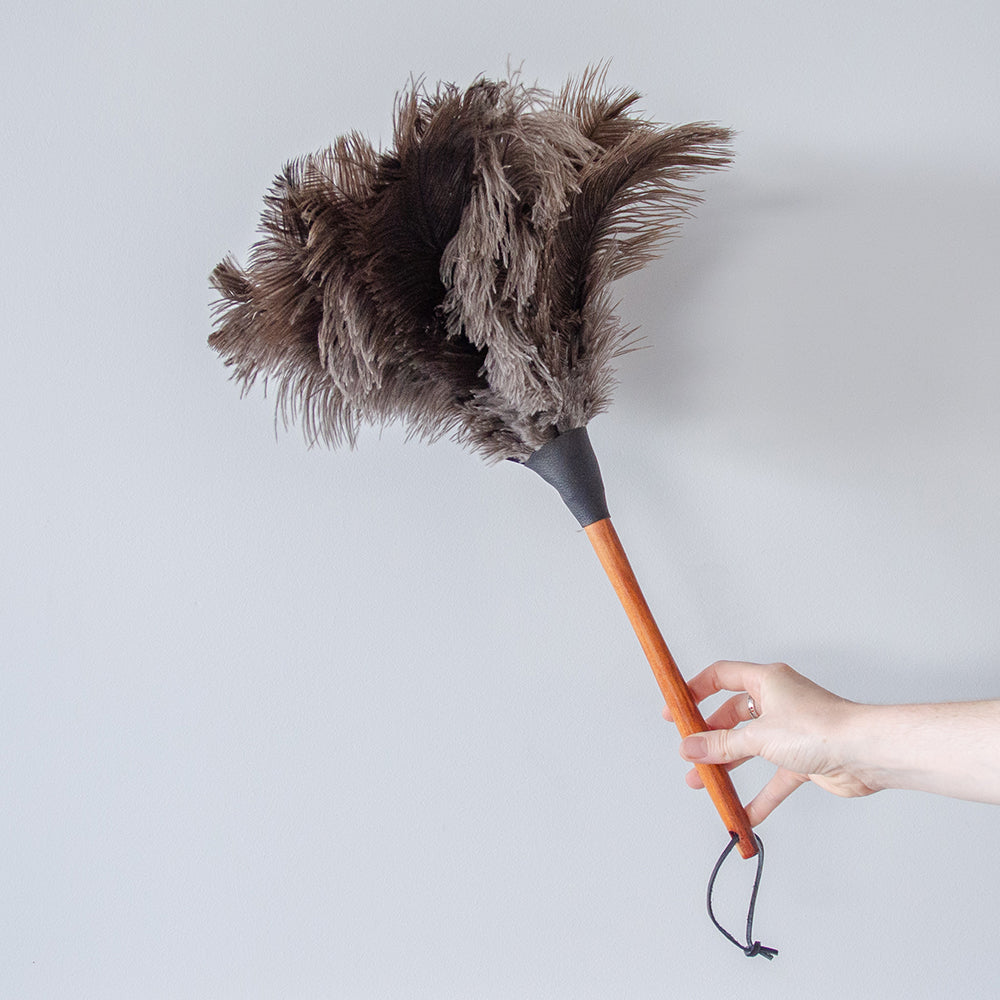 Redecker Ostrich Feather Duster - 50cm