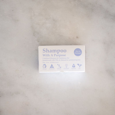 Shampoo With A Purpose Shampoo & Conditioner Bars - Dry or Damaged