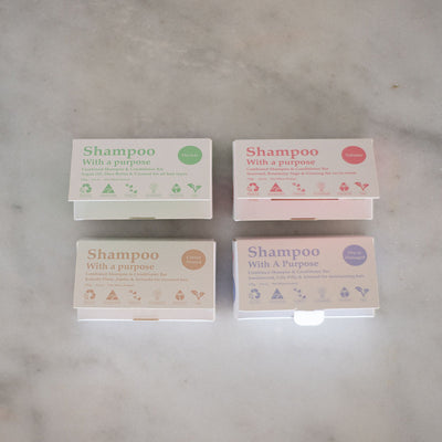 Shampoo With A Purpose Shampoo & Conditioner Bars - Colour Treated