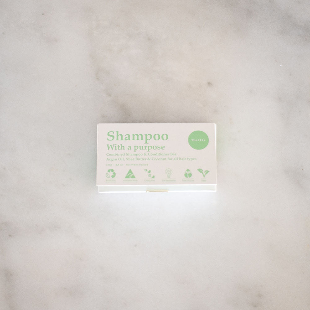 Shampoo With A Purpose Shampoo & Conditioner Bars - The O.G.