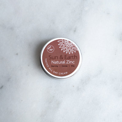 Sun and Earth Natural Zinc Tin