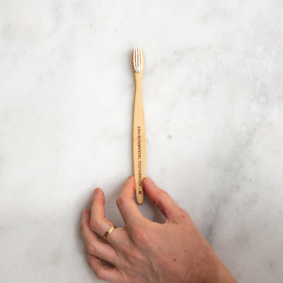 The Environmental Bamboo Toothbrush - Medium