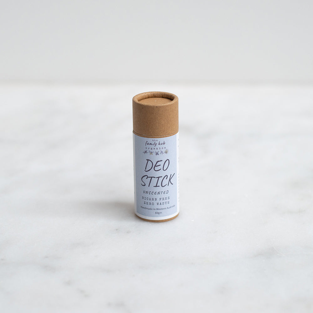 The Family Hub Organics Deodorant - Unscented