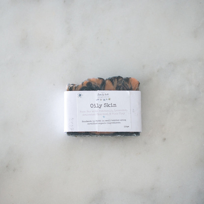 The Family Hub Organics Face Cleanser Bar - Oily Skin