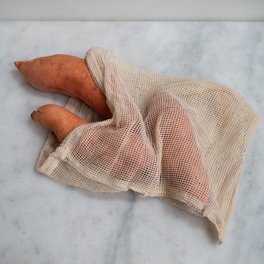 The Keeper Organic Cotton Produce Bags - Large Mesh
