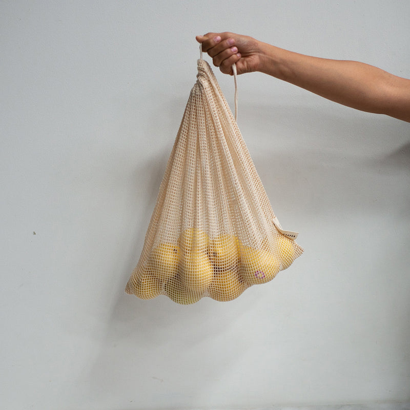 The Keeper Organic Cotton Produce Bags - Medium Mesh