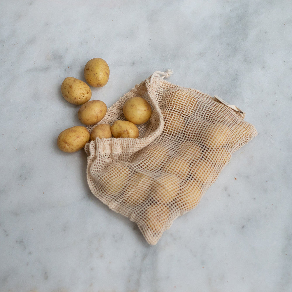 The Keeper Organic Cotton Produce Bags - Small Mesh