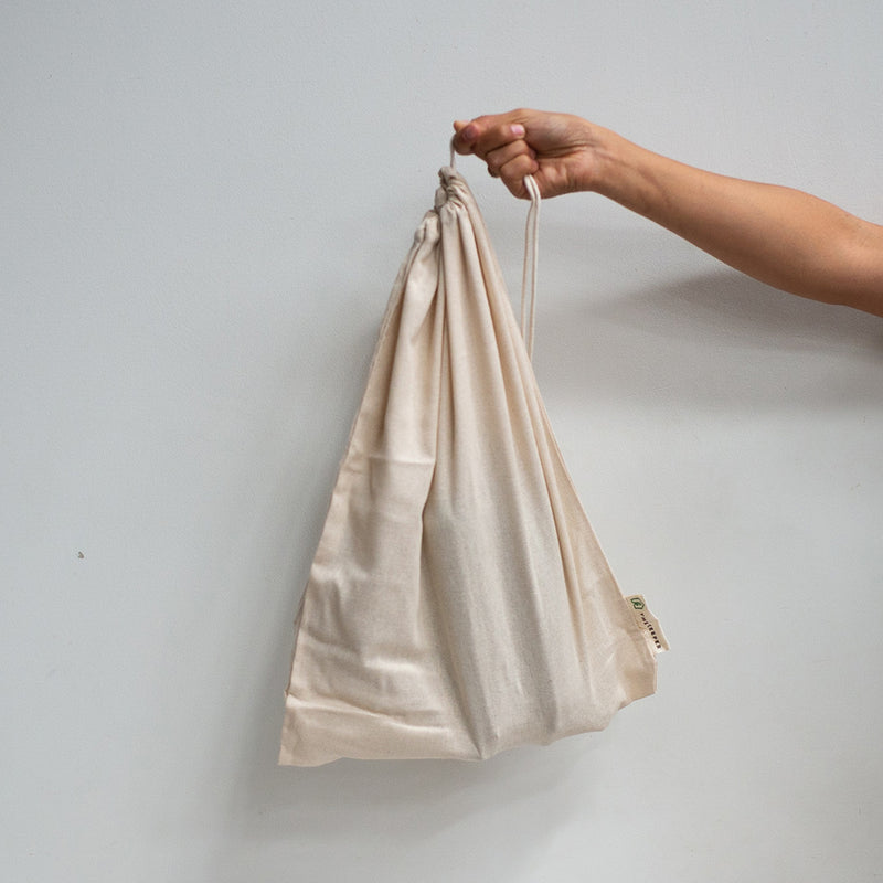 The Keeper Organic Cotton Produce Bags - Large Muslin