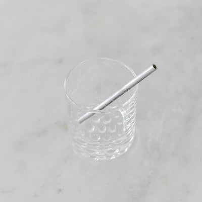 The Last Straw Co Stainless Steel Cocktail Straw
