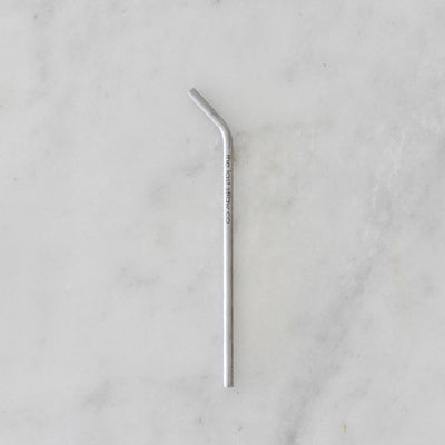 The Last Straw Co Stainless Steel Straw - Thin - Bent