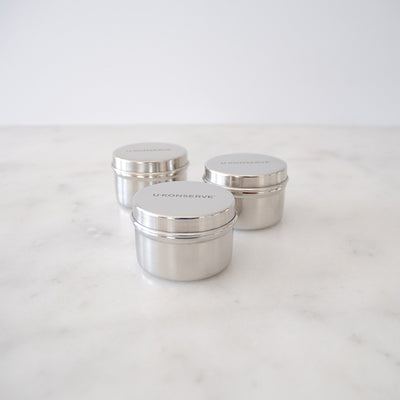 U Konserve 3 Round Mini Containers