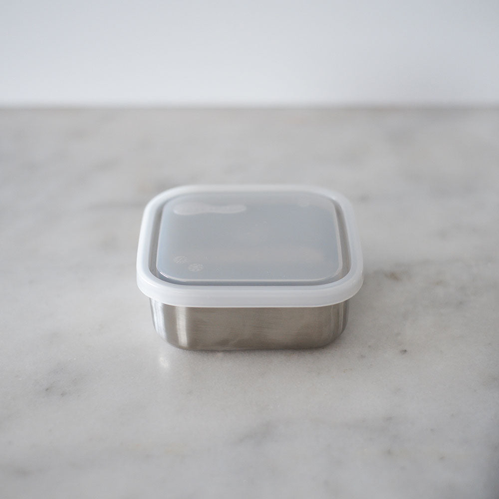 U Konserve To-Go Small Square Container Clear lid