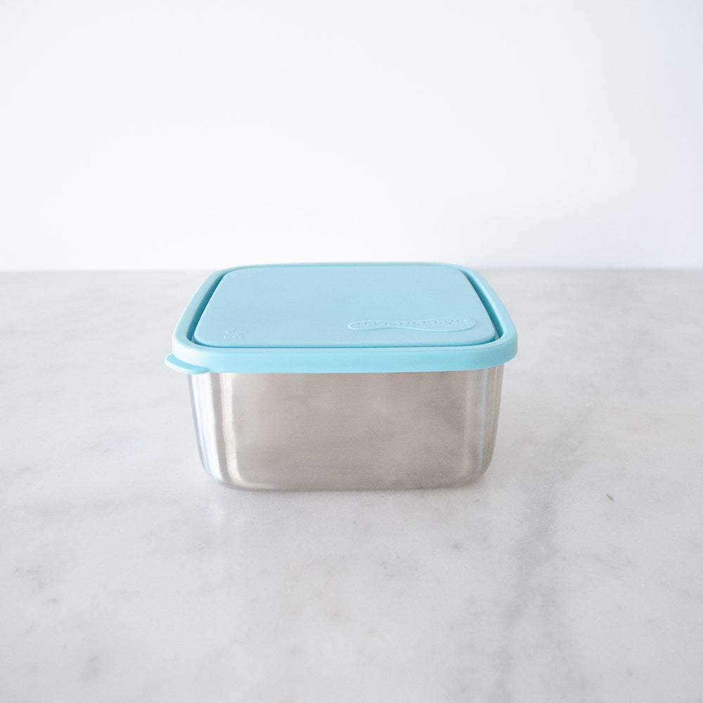 U konserve To-Go Large Square Container with Divider 1.4L