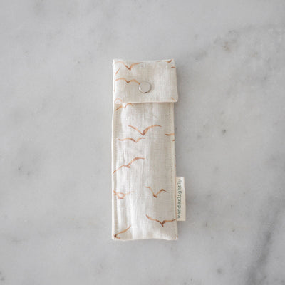 Wanderlightly Wooden Cutlery and Pouch