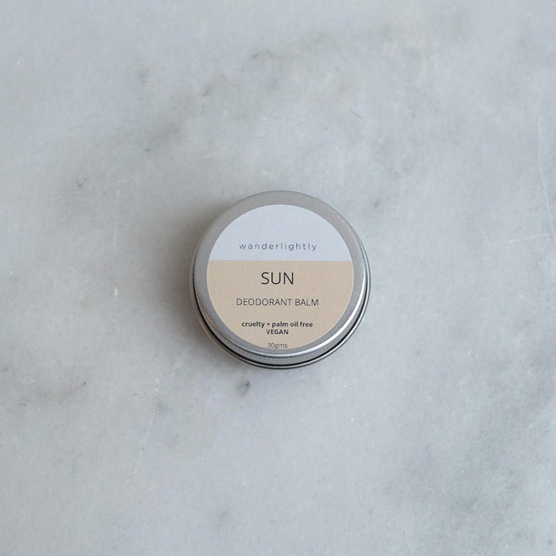 Wanderlightly Natural Deodorant - Sun