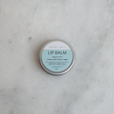 Wanderlightly Lip Balm - Peppermint