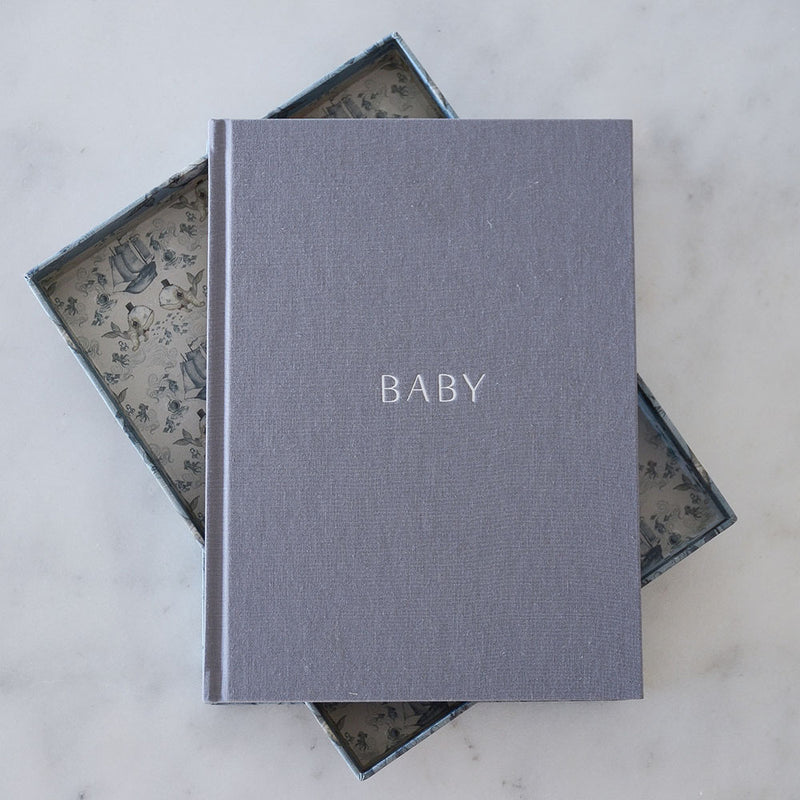Write to me Baby Journal Boxed - Mrs Mighetto Whalie