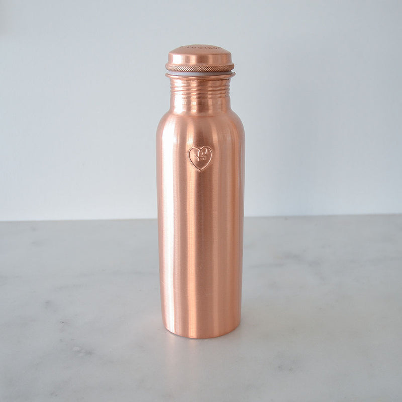 Yogibeings Copper Bottle - Smooth Matte 845ml