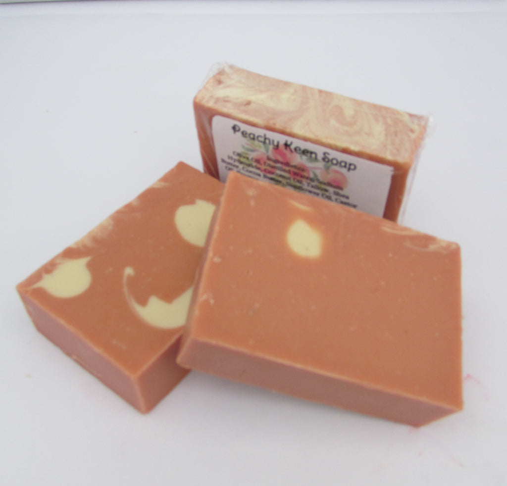 Peachy Keen Soap