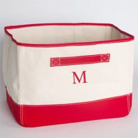 MONOGRAM CANVAS TUB