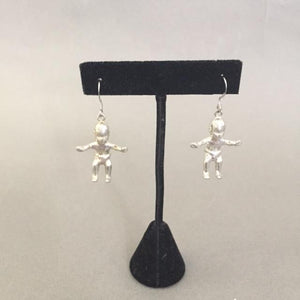 KING CAKE BABY EARRINGS