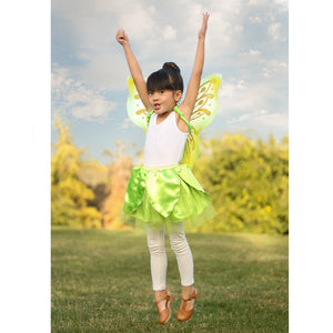 TINKERBELL SKIRT AND WINGS SET