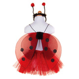 GLITTER LADY BUG SET