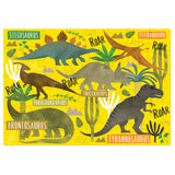 DINOSAUR PUZZLE BY FLOSS & ROCK