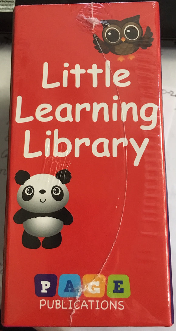 LITTLE LEARNING LIBRARY SET OF 3 BOARD BOOKS