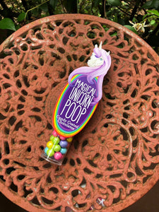 UNICORN MAGICAL CANDY CHOCOLATE POOP