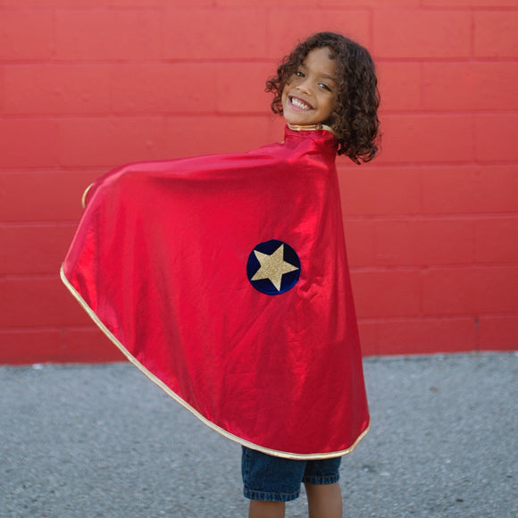 SUPER HERO REVERSIBLE CAPE
