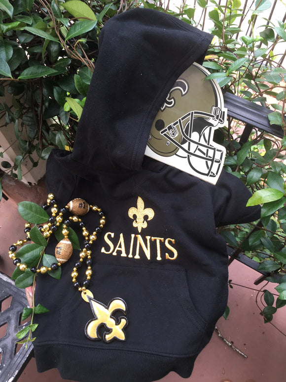 SAINTS 'GOLD' EMBROIDERED HOODIE