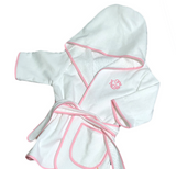KIDS MONOGRAM HOODED ROBE or PIPPED  COVER UP