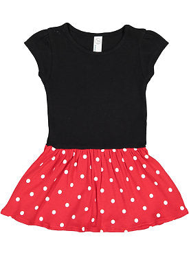 MICKEY MOUSE COTTON KNIT DRESS