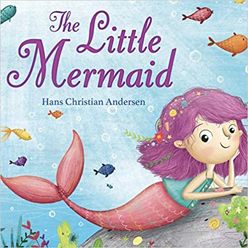 The Little Mermaid - Little Hippo Books - Children's Padded Board Book
