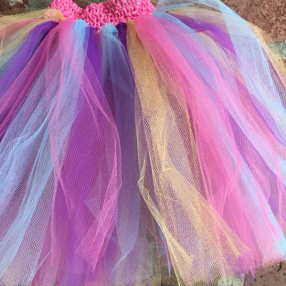 GIRLS UNICORN GLITTER TUTU