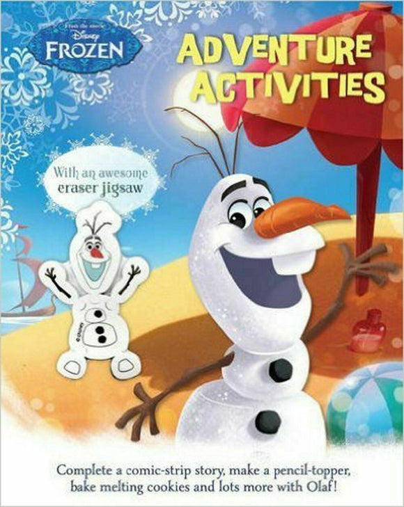Disney Frozen Adventure Activities Book with an Awesome Jigsaw Eraser