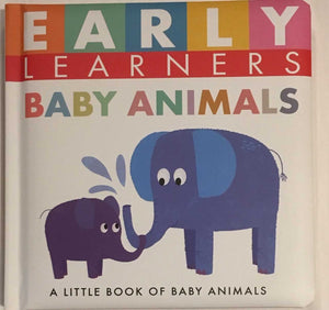 Baby Animals Padded Board Book for Early Learners by Little Hippo Books