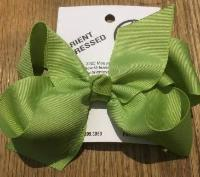 HAIRBOW 5inch LIME GREEN