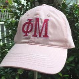EMBROIDERED SORORITY TWILL  CAP