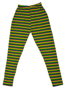 LEGGINGS MARDI GRAS STRIPE FOR KIDS